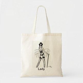 Lady Budget Tote Bag