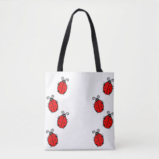 Lady bug Animal Office Custom Destiny Destiny'S Tote Bag