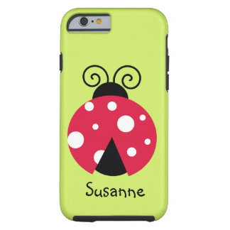 Lady Bug Bright iPhone 6 Case
