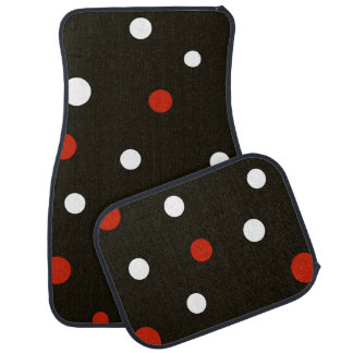Lady Bug Design Car Mats