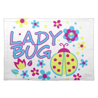 Lady bug design placemat