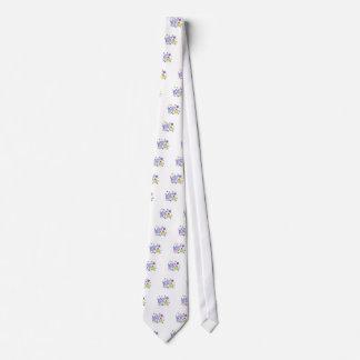 Lady bug design tie