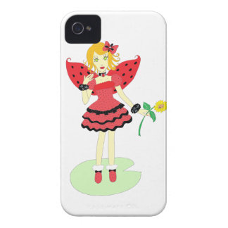 Lady Bug Fairy Case-Mate iPhone 4 Cases