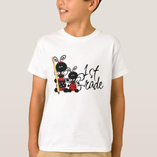 Lady Bug First Grade T-Shirt