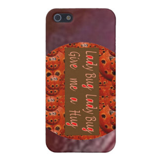 Lady Bug - Give me a hug  2 Cover For iPhone 5
