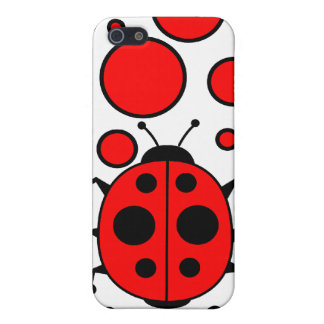 Lady bug iPhone 5/5S case