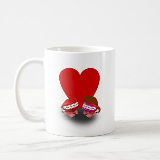 Lady Bug Kiss Jumping Teeth Mug