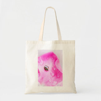 lady bug moment tote bag