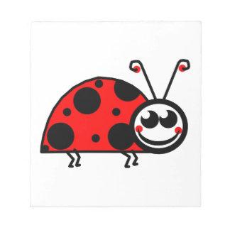 Lady Bug Notepad