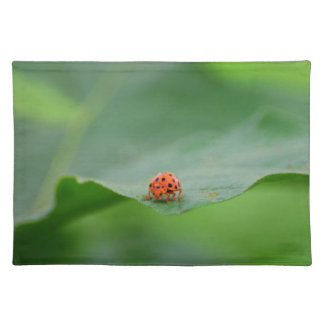 LADY BUG ON LEAF AUSTRALIA PLACEMAT