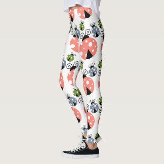 Lady Bug Pattern Leggings