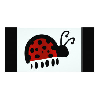 Lady bug picture card