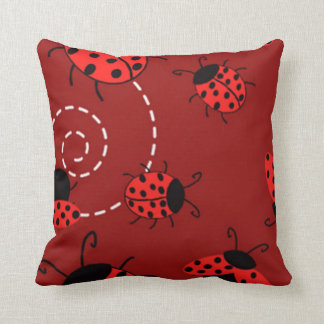Lady bug pillow