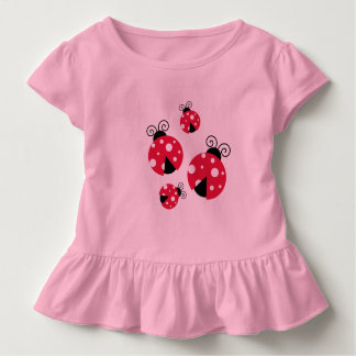 Lady Bug Ruffle T-Shirt for Baby