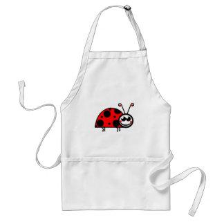 Lady Bug Standard Apron