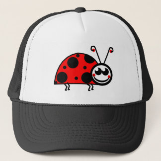Lady Bug Trucker Hat