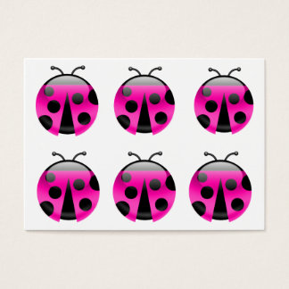 Lady Bugs Are Lucky - SRF Business Card