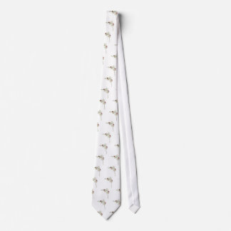 Lady Bugs Orchids Tie