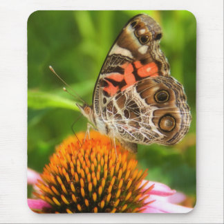 Lady Butterfly Mouse Pad