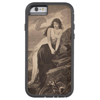 lady by the sea vintage art victorian gothic tough xtreme iPhone 6 case