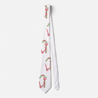 Lady Candy Cane Tie