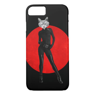 Lady cat iPhone 8/7 case