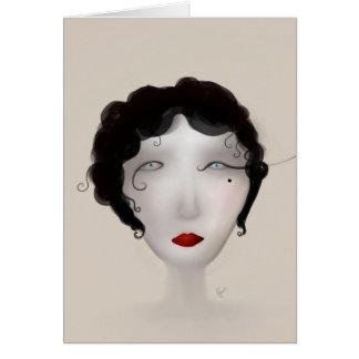 Lady Charleston Card