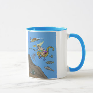 Lady Cod-Diver Mug