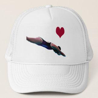 Lady Diver Diving Trucker Hat
