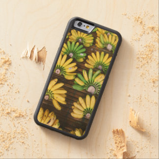 Lady Finger Bananas ~ Egg Banana (กล้วยไข่) Maple iPhone 6 Bumper