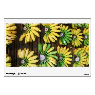 Lady Finger Bananas ~ Egg Banana (กล้วยไข่) Wall Decal