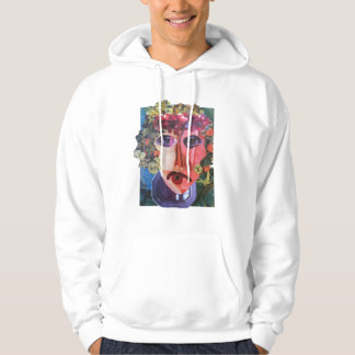 Lady Flower Power  Helping Homeless People Hoodie
