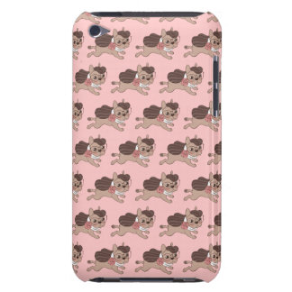 Lady Frenchie is going out for a walk Case-Mate iPod Touch Case
