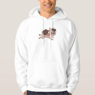 Lady Frenchie is going out for a walk Hoodie