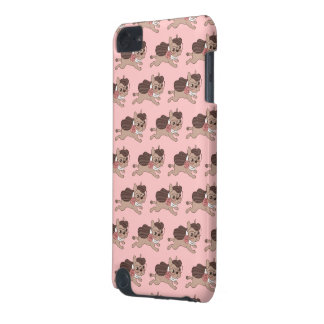 Lady Frenchie is going out for a walk iPod Touch (5th Generation) Cover