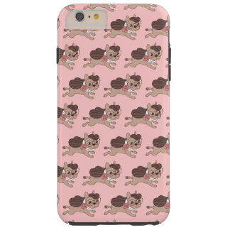 Lady Frenchie is going out for a walk Tough iPhone 6 Plus Case