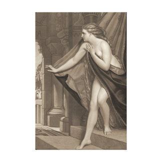 Lady Godiva 1873 Canvas Print