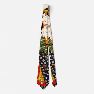Lady Holding Cat 1843 Tie