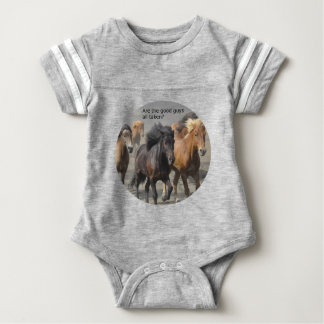 Lady Horse Gossip: Are The Good Guys All Taken? Baby Bodysuit