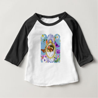 lady in blue baby T-Shirt