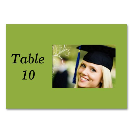Lady in Grad Hat Card