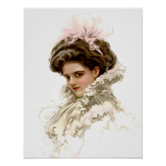 Lady in Profile Poster
