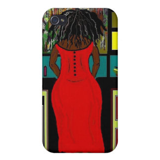 LADY IN THE KITCHEN Hard Case for iPhone 4/4S iPhone 4/4S Case