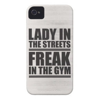 Lady In The Streets Freak In The Gym Case-Mate iPhone 4 Cases