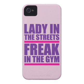 Lady In The Streets Freak In The Gym iPhone4 Case