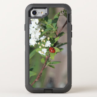 Lady in White cell phone case