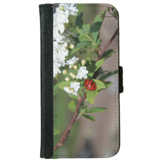 Lady in White cell phone case/wallet iPhone 6 Wallet Case