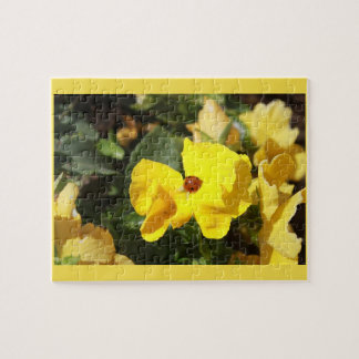Lady in Yellow Jigsaw Puzzle