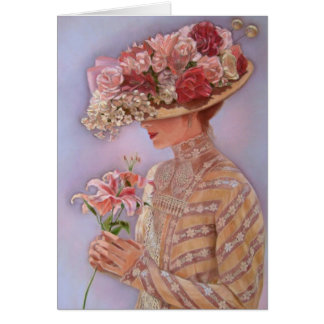Lady Jessica Greeting Card