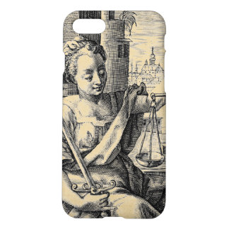 Lady Justice and Scales iPhone 8/7 Case